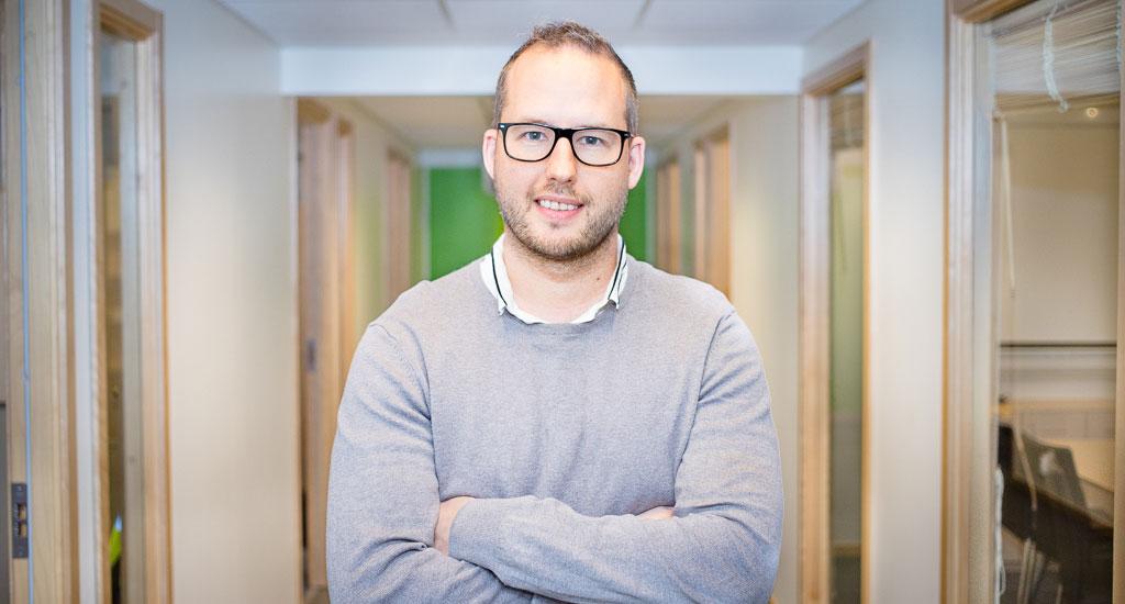Vår nya projektledare har fullt fokus på el-entreprenad